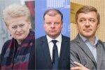 Самые влиятельные в Литве 2017: политики