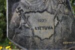 A monument on the Via Baltica