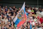 """В Вильнюсе - День России: песни, еда, флаги и """"Катюша"""""""