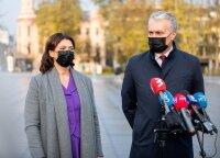 Президент Литвы после голосования: я одобряю меры, введенные для обуздания коронавируса