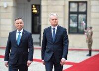Президент Польши в Литве: почтит лидеров восстания и встретится с руководством страны