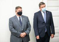 Линкявичюс и Кароблис пока будут работать в Департаменте по делам ЕС МИД Литвы