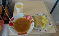 Utenos ligoninės maistas