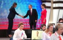 У россиян снизился интерес к Прямой линии с Владимиром Путиным