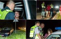 Под Рудаминой полиция усмиряла пьяную 29-летнюю женщину