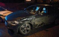 В автомобиль политика Имбрасаса врезался пьяный водитель