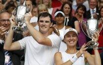 Хингис в паре с Марреем завоевала 23-й титул Большого шлема