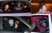 Ночной рейд в Вильнюсе: не повезло водителю и девушке из Казахстана