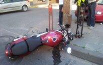 В Паневежисе в аварии погиб мотоциклист