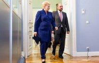 Dalia Grybauskaitė ir Martinas Schulzas