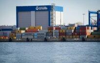 Клайпедский порт опередил по контейнерным погрузкам Ригу