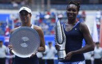 Garbine Muguruza ir Venus Williams