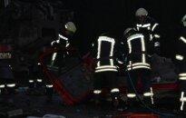 В Скайдишкес - большой пожар