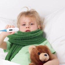 Paslaptinga liga pasireiškia aukšta temperatūra