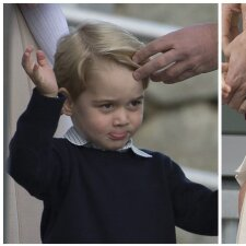 Princas George ir princesė Charlotte išvyko namo: paskutinis jų viešas pasirodymas