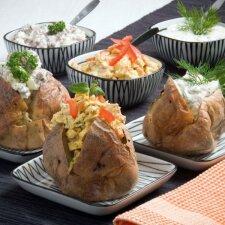 Traškios įdarytos bulvės