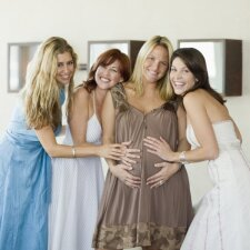 13 nėštumo savaitė: būsimasis vaikelis jau moka šypsotis