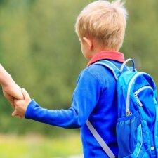 Vaikai grįžta į mokyklas: kur tyko traumos?