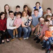 20-ą vaiką pagimdžiusi moteris pareiškė, kad tai jau pabaiga
