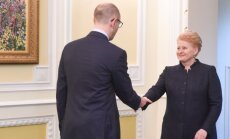 Dalia Grybauskaitė, Arsenijus Jaceniukas