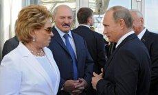 Valentina Matvijenko, Aleksandras Lukašenka, Vladimiras Putinas
