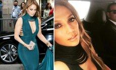 Jennifer Lopez be jokio gėdos jausmo nustelbė nuotaką