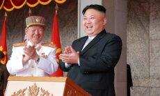Šiaurės Korėja demonstruoja jėgą