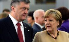 Petro Porošenka, Angela Merkel