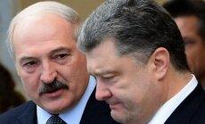 Aleksandras Lukašenka, Petro Porošenka