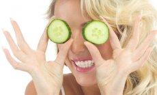 Kaip panaudoti agurką savo grožiui puoselėti