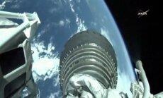 Žemės vaizdas iš TKS