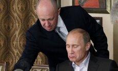 Jevgenijus Prigožinas, Vladimiras Putinas