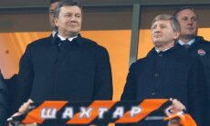 Viktoras Janukovyčius, Rinatas Achmetovas