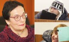 Marija Aušrinė Pavilionienė, Ruslanas Kasperiūnas (viršuje) ir Mindaugas Brandišauskas