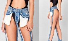 Naujas džinsų  trendas  - kainuoja nepigiai, bet dėmesio tikrai sulauksi