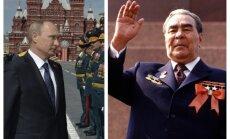 Vladimiras Putinas, Leonidas Brežnevas