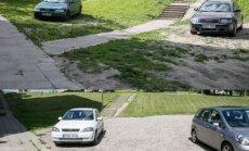 Žaliuosiuose koriuose Vilniuje bus įrengta 600 vietų automobiliams stovėti