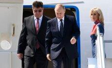 V. Putinas atvyko į susitikimą su D. Trumpu