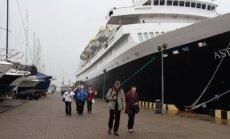 Į Klaipėdą atplaukė Astorija su pirmaisiais turistais