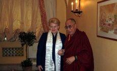 Dalia Grybauskaitė ir Dalai Lama