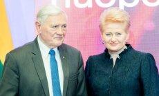Valdas Adamkus ir Dalia Grybauskaitė