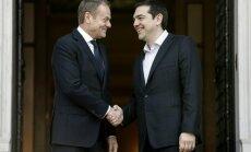 Donaldas Tuskas, Alexis Tsipras