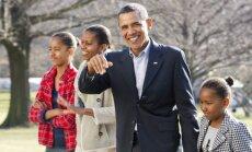 Barackas Obama su šeima