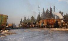 Atakuotas JT humanitarinės pagalbos konvojus