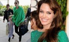 O buvo laikai... Angelina Jolie