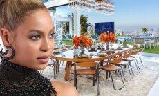 Kas slepiasi už prabangių Beyonce namų durų