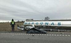The car crash on the Via Baltica