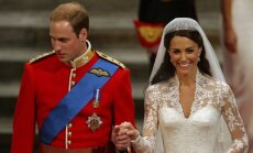 Kate Middleton ir princo Williamo vestuvės