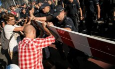 Varšuvoje policija išvaikė demonstraciją prieš ultradešiniųjų eitynes