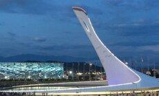 Deglas olimpiniame Sočio parke